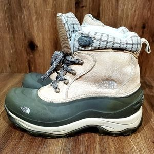 The North Face, waterproof winter boots, White